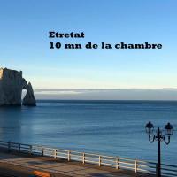 Chambre des Plages Normandes (10mn Etretat)
