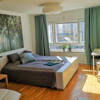 Green Apartment by MalmoHomes
