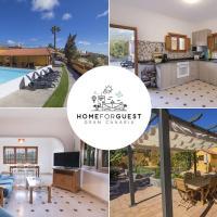 Gran Canaria Cottage Getaway, POOL, BBQ, SEA VIEWS
