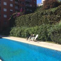 Torre en Palermo, jardín, piscina y cochera.