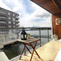 City center Oslo, Luxury Sørenga with sea view, 2 toilet, 2bedrooms