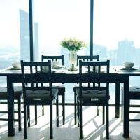 CBD/Super Habour View/Stylish Apartment/2Bd2Bth/FreeCarPark/Free tram zone