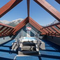 Canmore Crossing Condo with Rooftop Hot Tub
