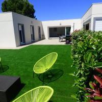 Villa moderne climatisée avec Piscine et SPA, entre mer & montagne