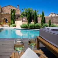 Almyrida Sands luxury stone villa