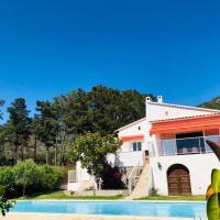 Charmante villa 2 chambres avec magnifique vue mer et piscine, Sagone, Corse
