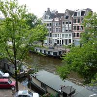 Canal view apartment Prinsengracht Jordaan