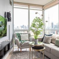Stunning & Modern 2-Bedroom (CN Tower Views)