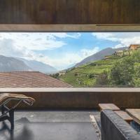 Renovated historic barn in mountain village