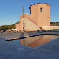 Almyros Studio 2 with sea and lake views
