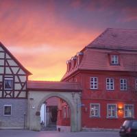 Rotes Ross Marktbergel