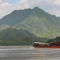 Mekong Cruises -The LuangSay Lodge & Cruises - Houei Say to Luang Prabang