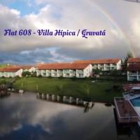 Flat 608 Villa Hípica - Gravatá