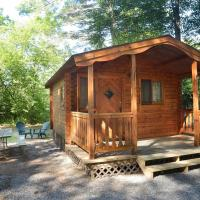 Lake George Escape One-Bedroom Rustic Cabin 62