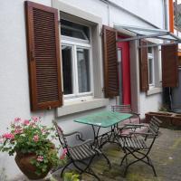 City-Appartements im Hinterhof