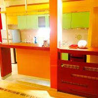 Colorful new apartment