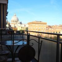 Romantic view Vaticano