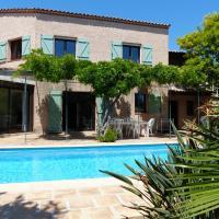 Maison provençale piscine et plages