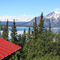 Atlin Lake and Mountain View Chalet
