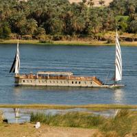 Dahabeya Queen Farida Sailing Boat - Esna/Aswan 5 Nights