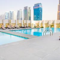 Hometown Apartments - Designer Furnished Apartment in Dubai with beautiful terrace