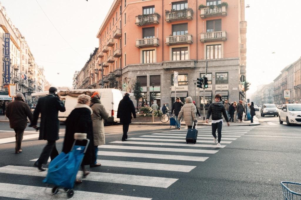 Bilocale Corso Buenos Aires con idromassaggio