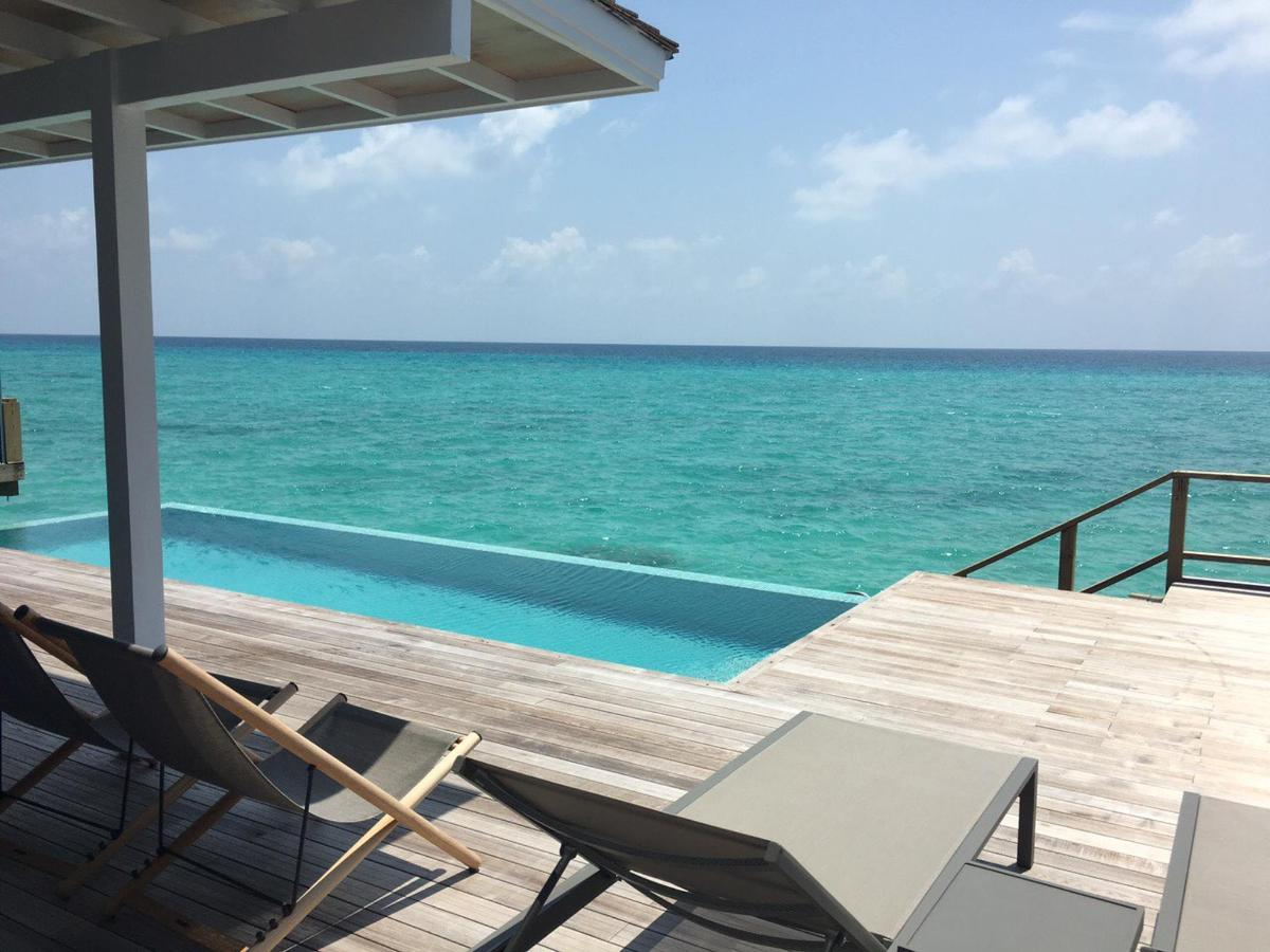 Water Villa With Pool Is The Best Room We Had So Far Review Of