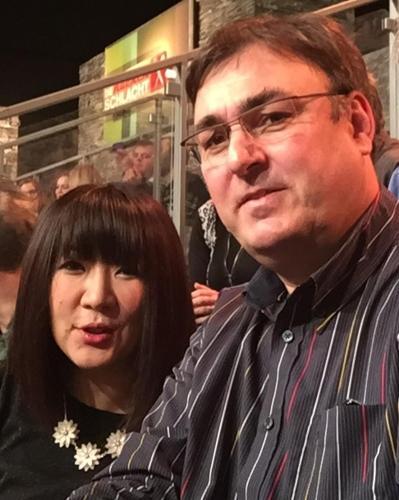 Makiko und Thomas Hallen