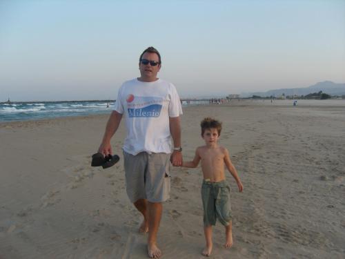 Raphael y su hijo