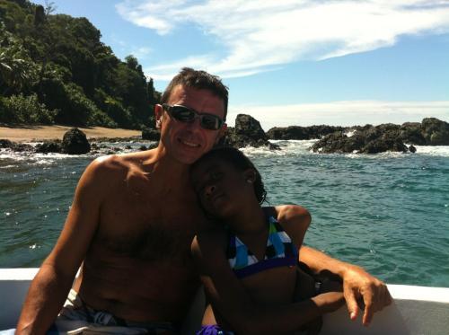 Massi (con mi hija)