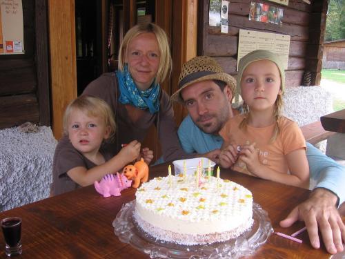 Peter Della Bianca in družina