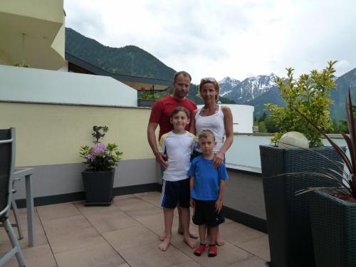 Michael,Conny die Kids Samuel und Raphael