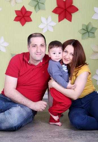 Ast(me) Garik(husband)  Sam(son)