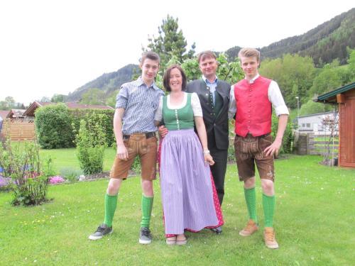 Silke, Richard, Tobias und Mattes