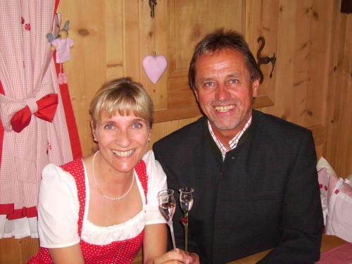 Ihre Gastbeber Barbara und Fritz Strickner