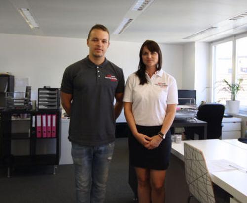 Dominic (CEO) & Stephanie (CAO)