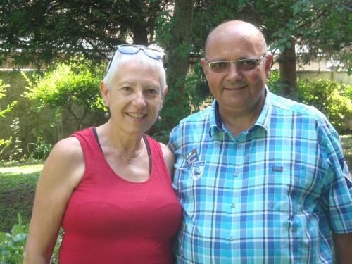 Les propriétaires:Marie- Odile et Gérard