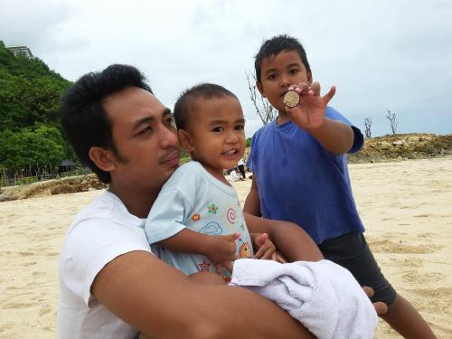 it s me and my two boys