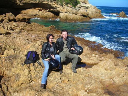 The owners - Katia & Jaycee