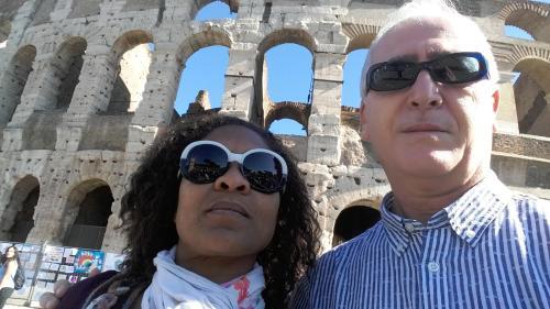 Patsy y su esposo Marco