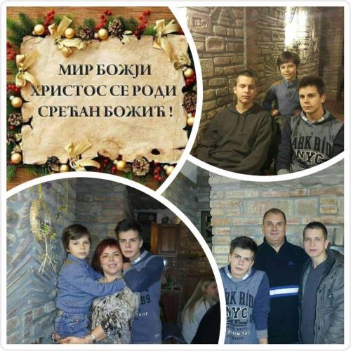Vlada,Natasa,Vuk,Ognjen i Stefan