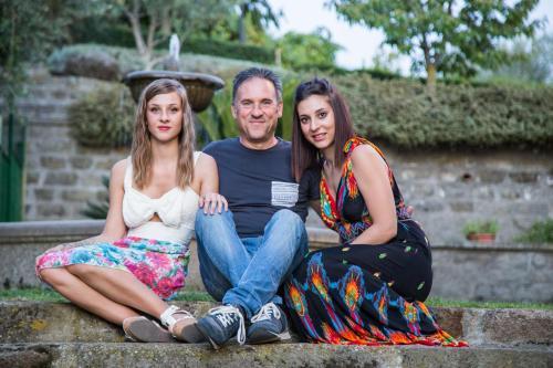 Alessia, Marco e Alessandra