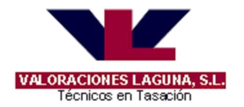 Logo Valoraciones Laguna SL