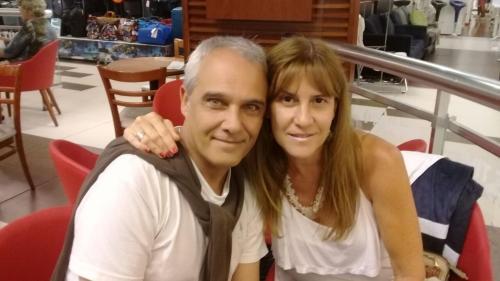 Roxana D Empaire y Eduardo Oliver
