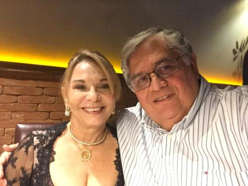 Rosemary e Paulo César Batista