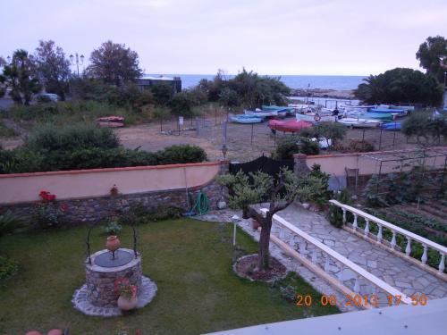La vista sul giardino