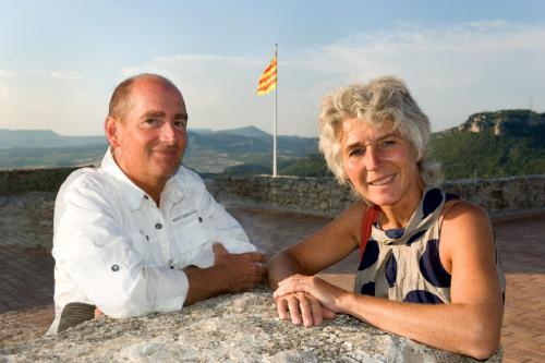 Jacqueline and Geert, your Dutch hosts at Torre Nova Resort
