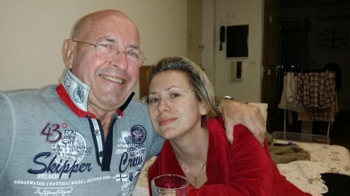 Moi-même Bernard MAINGUY et ma compagne