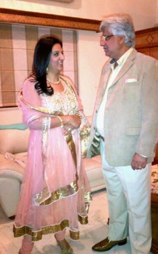 Puneet and Anu suri