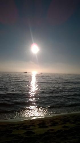 tramonto al Cinquale